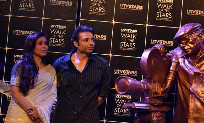 Rani Mukerji And Uday Chopra Attend The Yash Chopra Statue Unveiled Event