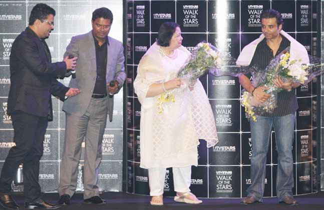 Pamela Chopra And Uday Chopra Graced At Yash Chopra Statue Unveiling Event