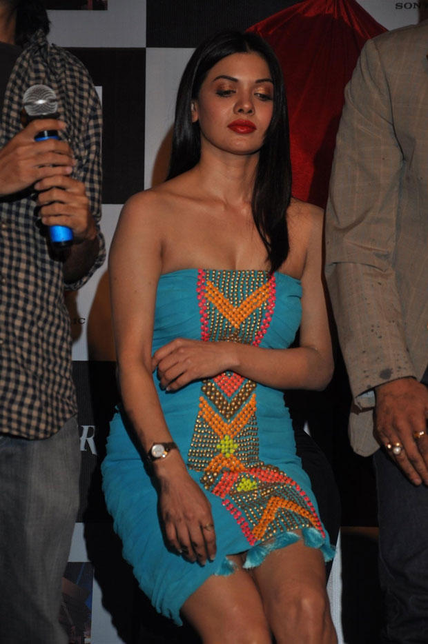 Sara Loren Sexy And Hot Look At Grand Success Party Of Murder 3 Music