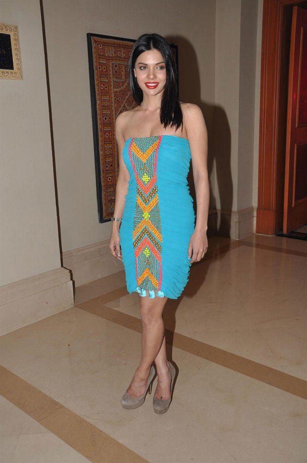 Sara Loren Walks In For Attend The Grand Success Party Of Murder 3 Music