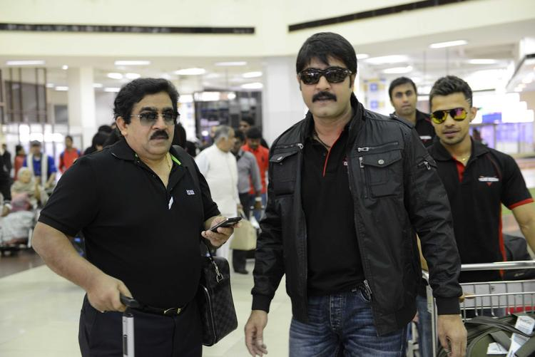 Meka Srikanth Spotted At Netaji Subhash Chanra Airport