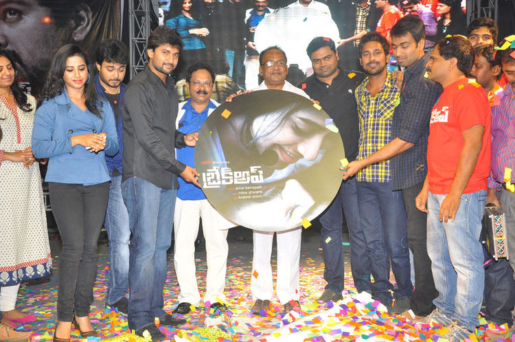 Ranadheer,Swathi,Nani And Sagar Snapped At Break Up Audio Launch