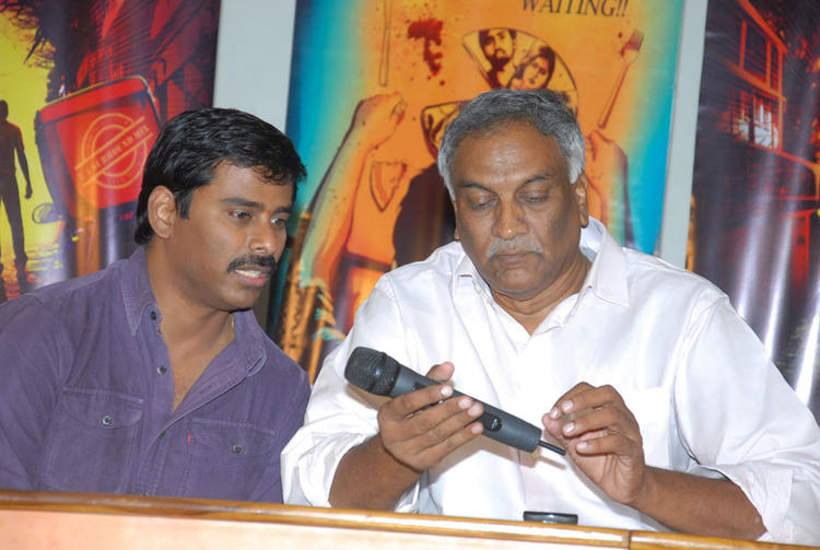 Suresh And Tammareddy Snapped At Tamili Movie Pizza Press Meet
