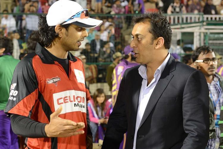 Rohan Talk To A Telugu Warrior Player At Telugu Warriors Vs Bengal Tigers CCL 3 Match