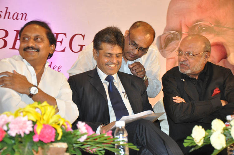 C Kiran,Manish And Shyam Photo Clicked At ANR Award Ceremony Function