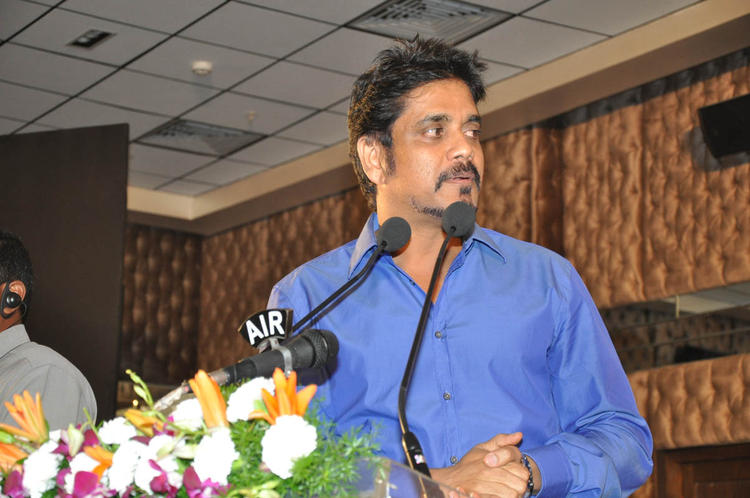 Nagarjuna Addressed The Audience At ANR Award Ceremony Function