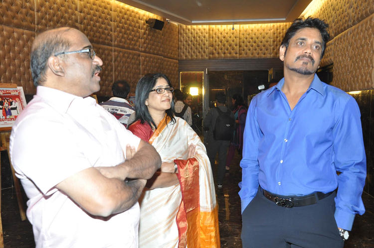 Nagarjuna With Wife Amala Attend ANR Award Ceremony Function