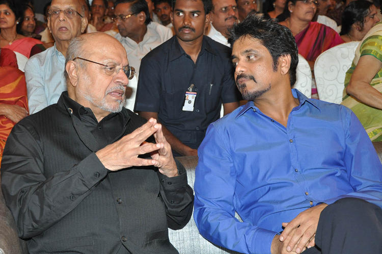 Shyam And Nagarjuna Make An Appearance At ANR Award Ceremony Function