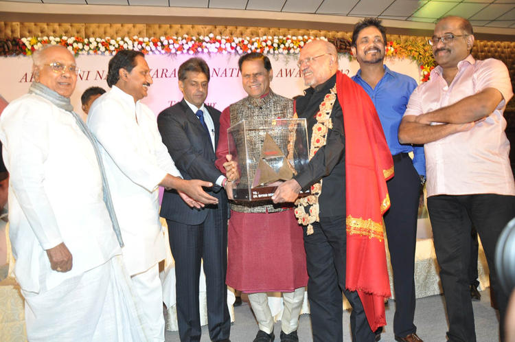 Shyam Benegal Receives The Anr Award At ANR Award Ceremony Function