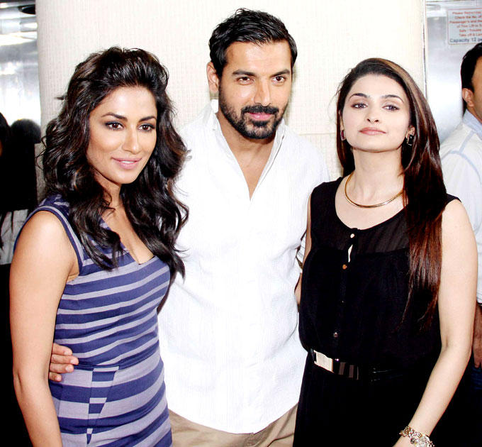 Chitrangada,John And Prachi Graced At I Me Aur Main Movie Press Meet