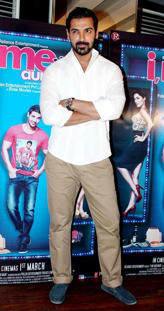 John Abraham Attend The I Me Aur Main Movie Press Conference