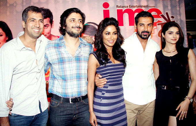 Kapil,Goldie,Chitrangada,John And Prachi Clicked At I Me Aur Main Movie Press Meet