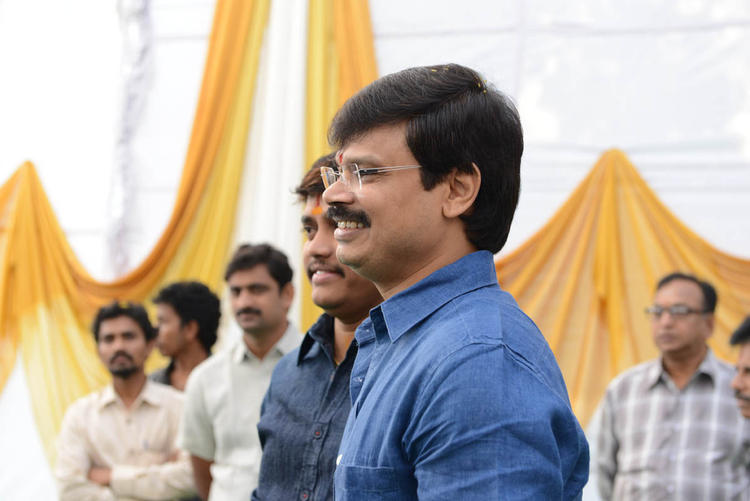 Guests Are Attend The Jr NTR Santosh Srinivas Movie Launch Event