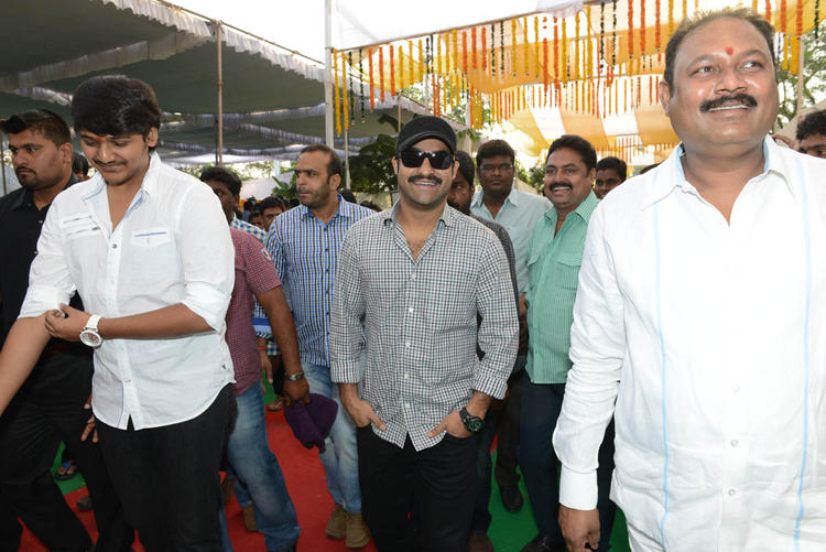 Jr. NTR Smart Look Still At Jr NTR Santosh Srinivas Movie Launch Event