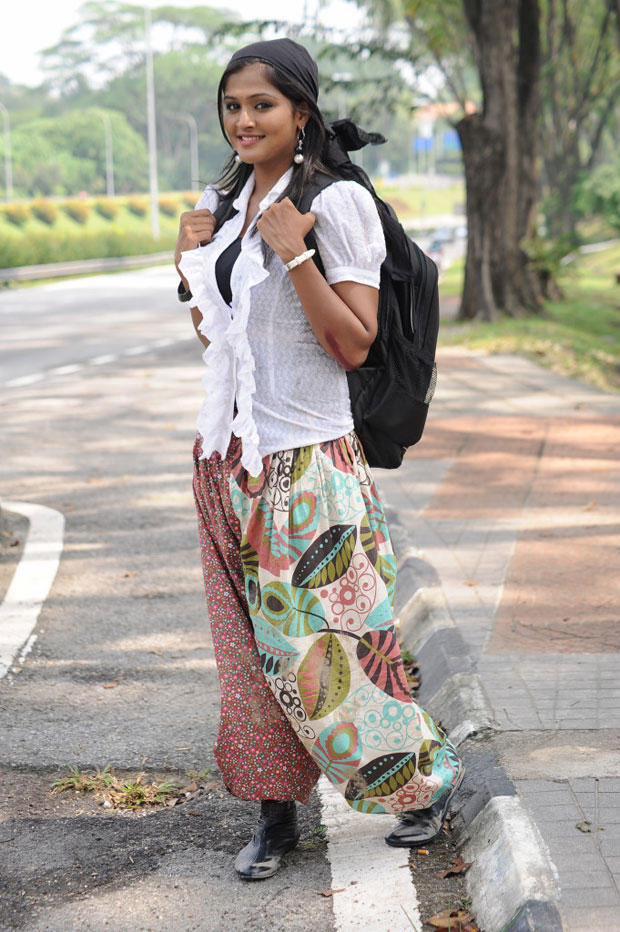 Remya Nabeeshan Nice Sizzling Look Still From Telugabbai Movie