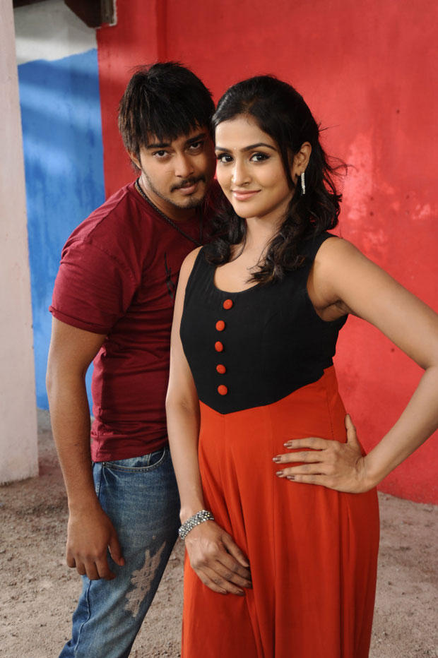 Tanish Alladi And Remya Nabeeshan A Still From Telugabbai Movie