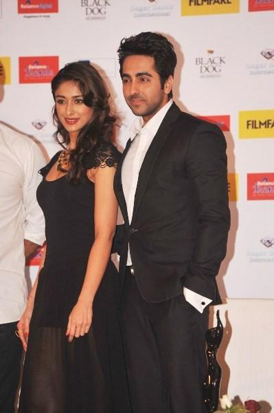 Ileana And Ayushmann Make An Appearance At Launch Of Filmfare Special Award Issue