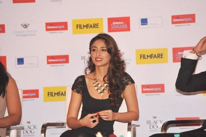 Ileana Flashes A Smile At Launch Of Filmfare Special Award Issue