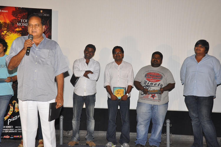 Celeb Guests Are Attend The Pizza Movie Premier Show Press Meet Event