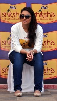 Huma Looks On Photo Clicked At The Walk For The Love Of Shiksha In Mumbai