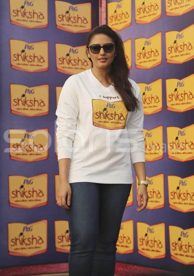Huma Qureshi Make An Appearance At The Walk For The Love Of Shiksha