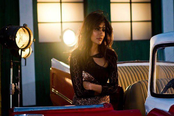 Chitrangda Gorgeous Look In Black Dress Photo Still From Movie I, Me Aur Main