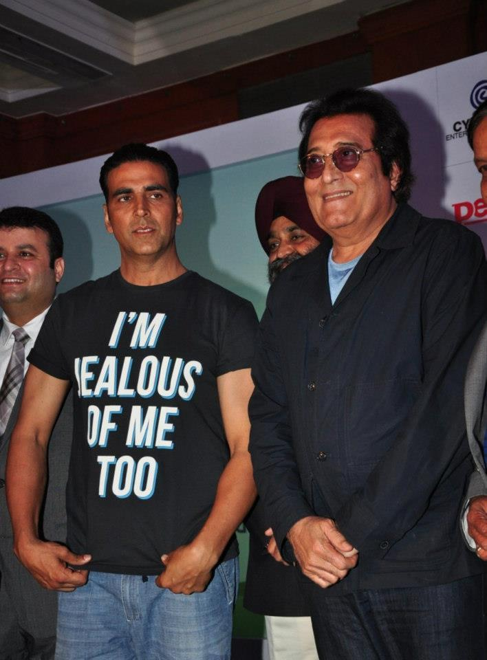 Akshay And Binod Grace The Event At Golf Premiere League
