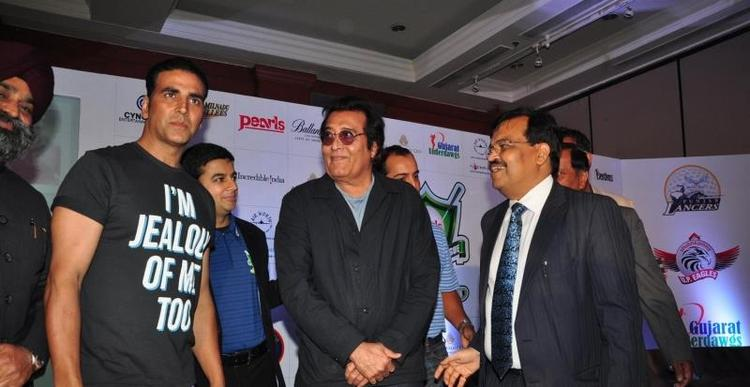Akshay And Binod Spotted At Golf Premiere League