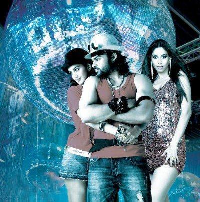 Sai Dharam,Shubra And Amruta Sexy Dance Pose Photo Still From Movie Rey