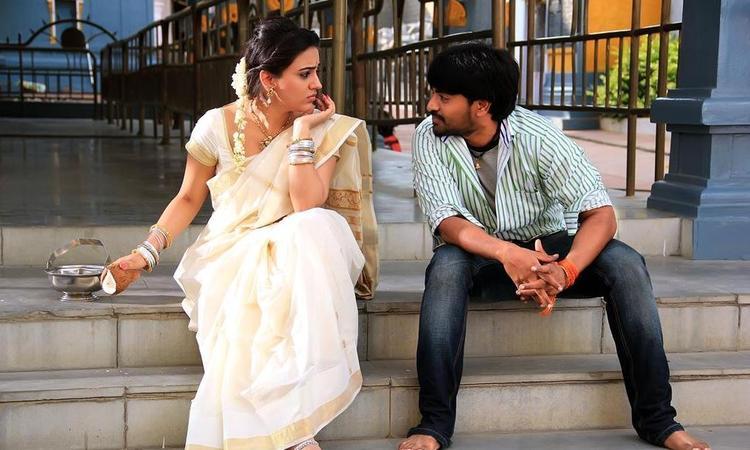Srinivas And Aksha Chatting Photo Still From Movie Rye Rye