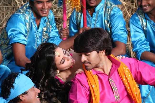 Srinivas And Aksha Perform A Song In Movie Rye Rye