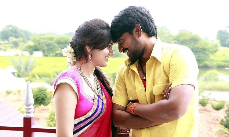 Srinivas And Aksha Romance Photo Still From Movie Rye Rye
