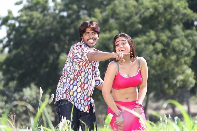 Srinivas And Aksha Sexy Look Photo Still From Movie Rye Rye