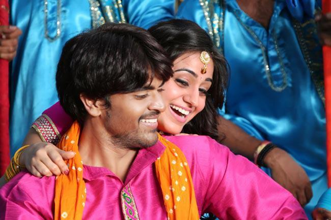 Srinivas And Aksha Sizzling Photo Still In A Song From Movie Rye Rye