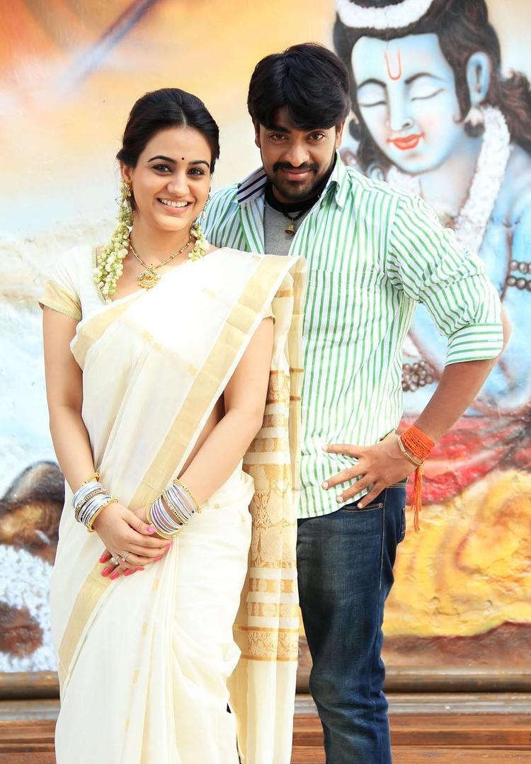 Srinivas And Aksha Superb Look Photo Still From Movie Rye Rye