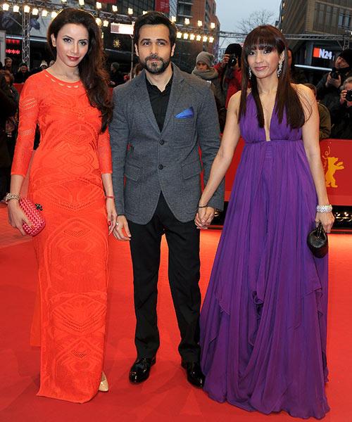 Prashita And Emraan In Red Carpet At The 63rd Berlin Film Festival