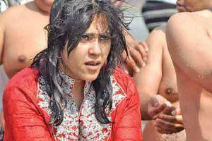 Ekta Kapoor Nice Look At Kumbh Mela In Allahabad
