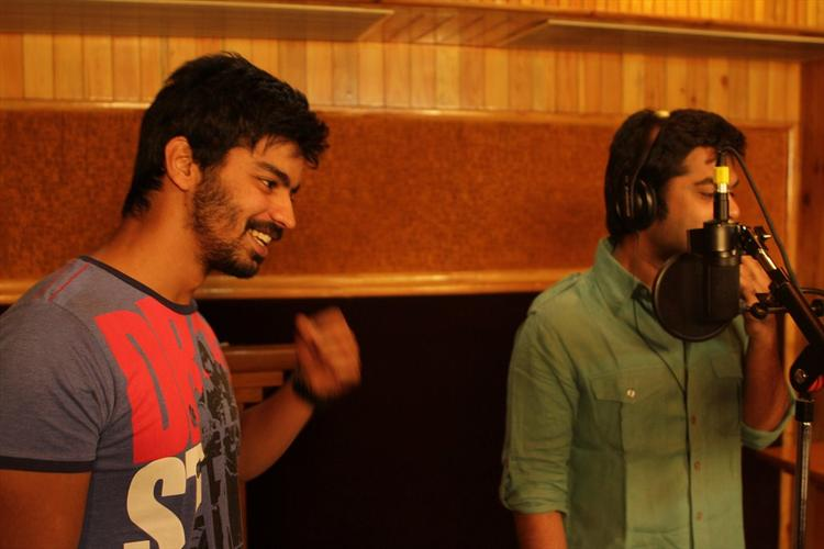 Simbu Sings For Back Bench Student Movie Still