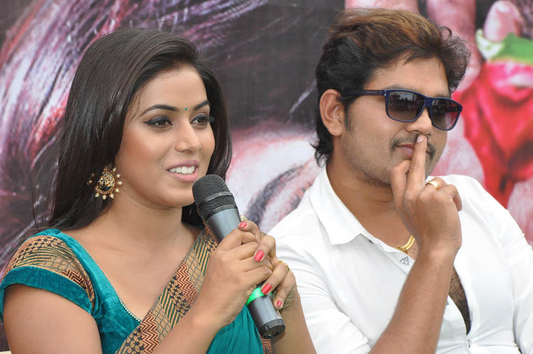 Poorna Speaking Still And Shakthi At Naaku Nachani Padam Prema Movie Launch Event