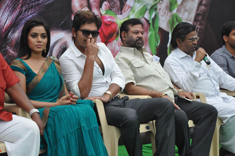 Shakthi And Poorna Attend At Naaku Nachani Padam Prema Movie Launch Event