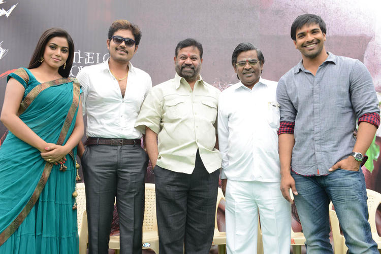 Shakthi,Poorna,Bhawani And Others At Naaku Nachani Padam Prema Movie Launch Event