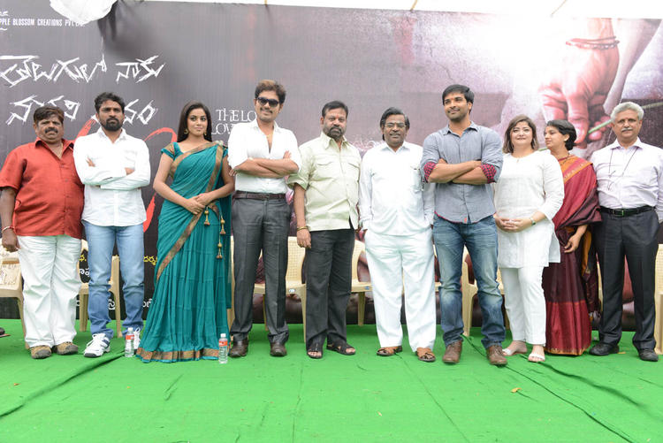 Shakthi,Poorna,Bhawani And Vasundhara Posed For Camera At Naaku Nachani Padam Prema Movie Launch Event