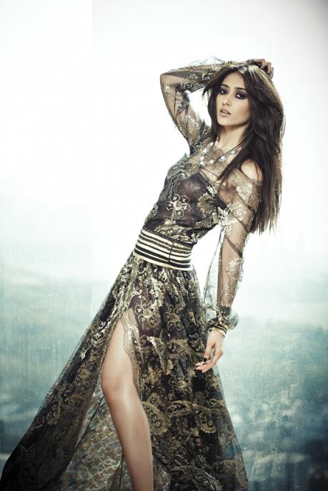 Ileana D'Cruz Fashionable Look Photo Shoot For L'Officiel Feb 2013