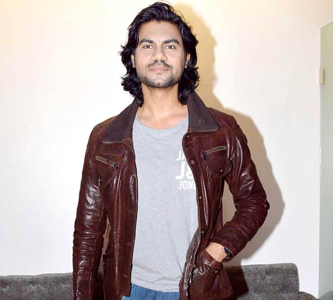 Gaurav Chopra Make An Appearance At The Screening Of A Punjabi Film