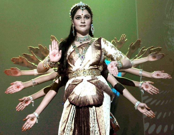 Gracy Singh Performs Photo Clicked At Ravindra Natya Mandir