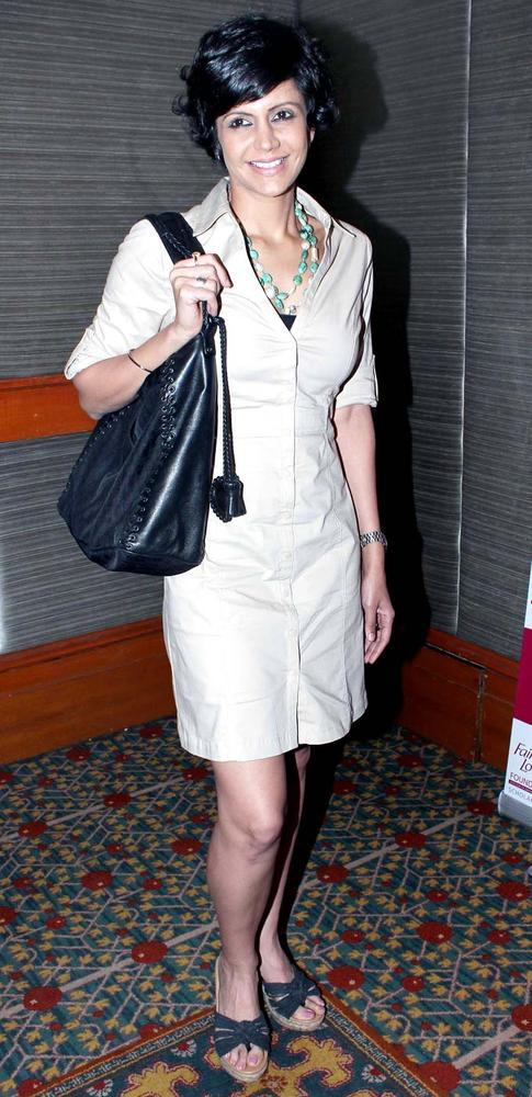 Mandira Spotted At A Scholarship Event Sponsored By A Major Beauty Products Company