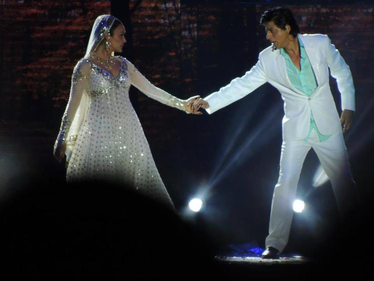 Shahrukh And Preity Sizzling Performance At Temptation Reloaded Concert  Event