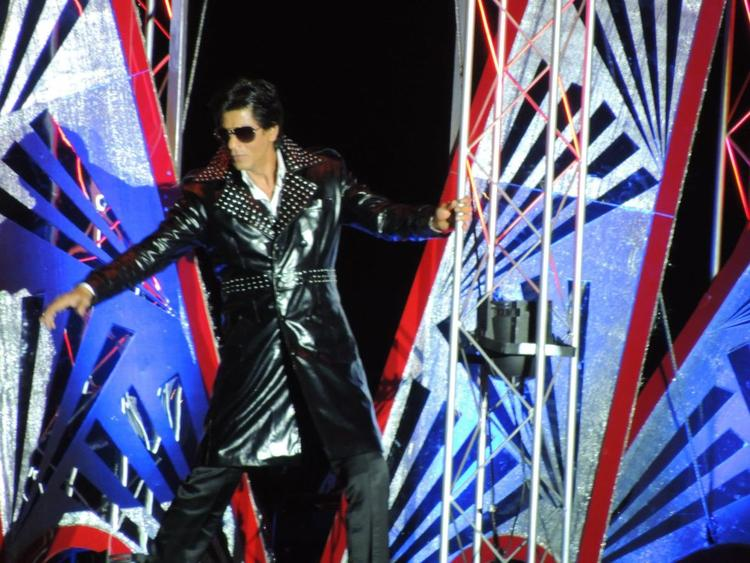 Shahrukh In Don Look At Temptation Reloaded Concert  Event