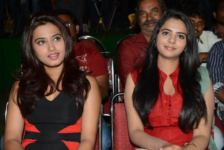 Dimple And Manasa Enjoy The Programme At Romance Movie First Look Teaser Launch Event