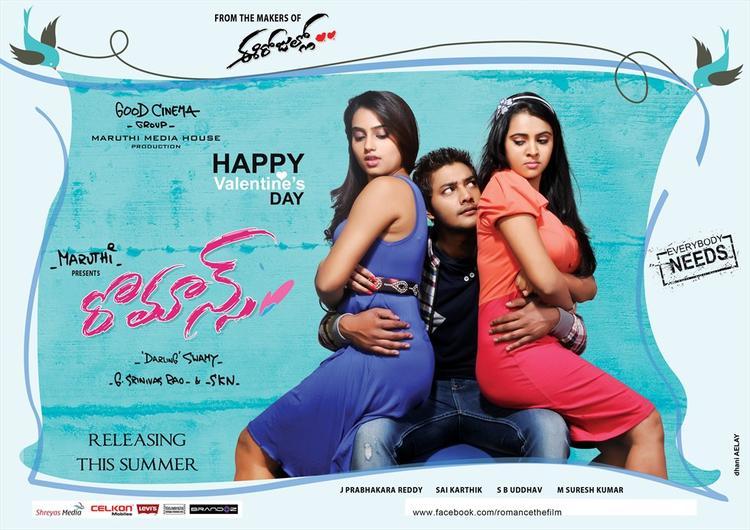 Prince And Ritu Varma Cool Look In Romance Movie Wallpaper